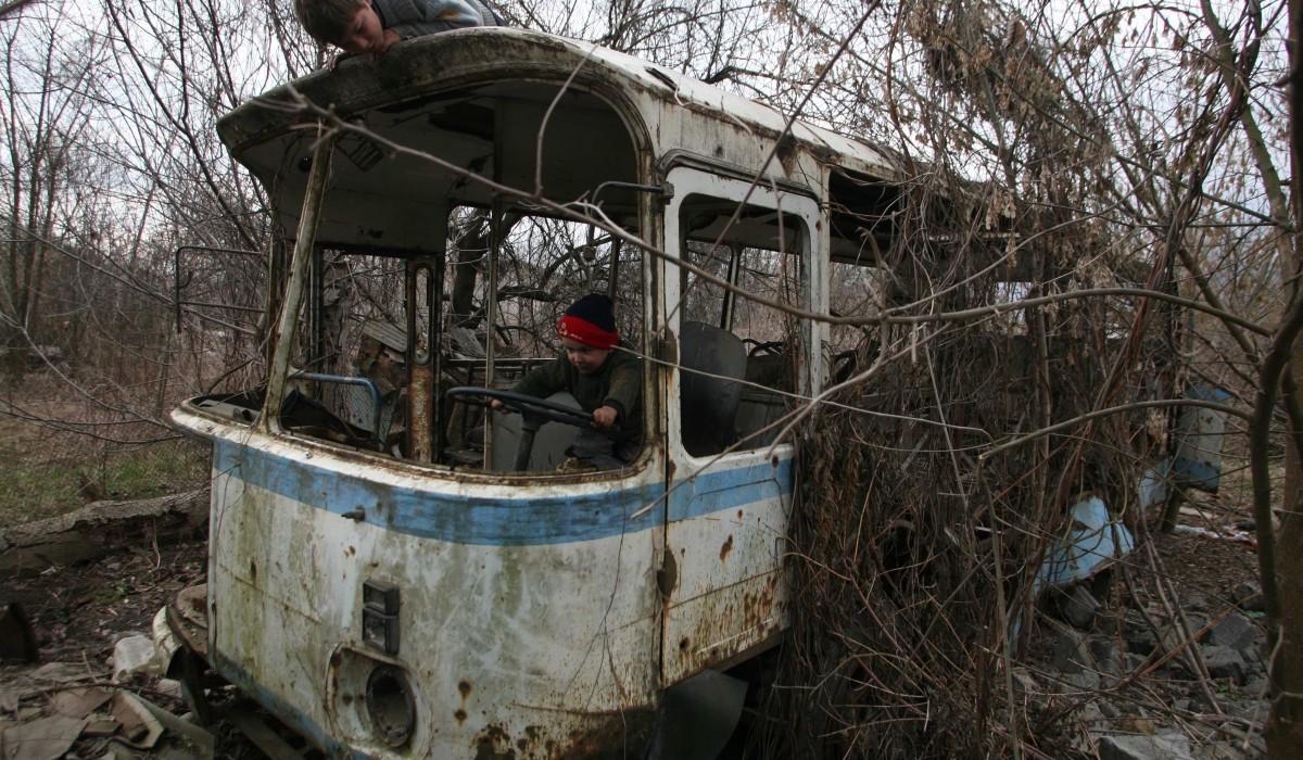 22.03.07.Kinder, Grosny