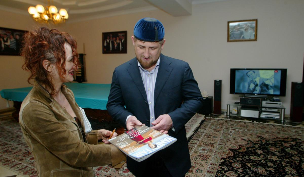 27.09.07.Mit Kadyrow in Tsenteroj